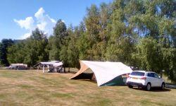 Kleine rustieke camping